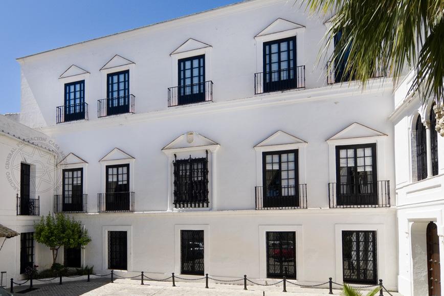 Fachada principal del palacio de los guzmanes fundaci n - Eltiempo es medina sidonia ...